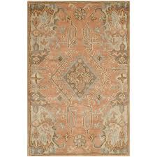 non toxic area rugs homesfeed safavieh wyndham terracotta area rug