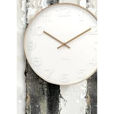 copper wall clock white numbers copper wall clock large copper wall clock large
