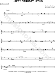 Here is a selection of free sheet music for piano, guitar, violin, saxophone, trumpet, ukulele and many more instruments. Brooklyn Tabernacle Choir Happy Birthday Jesus C Instrument Sheet Music Flute Violin Oboe Or Recorder In G Major Download Print Sku Mn0110884