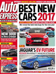 auto express new car releasesAuto Express  4 January 2017  ReleaseBB