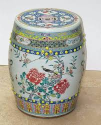 chinese garden stool. Chinese Garden Stool Porcelain Antiques Seat Blue And White
