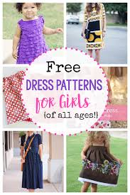 Dress Patterns For Toddlers Gorgeous 48 Free Dress Patterns For Girls Of All Ages Crazy Little Projects