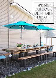 diy pallet outdoor dinning table. DIY Pallet Outdoor Dining Table Diy Pallet Outdoor Dinning Table T
