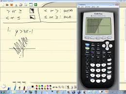 technology in college algebra graphing inequalities in two variables ti 84 plus