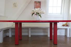 red lacquered furniture. DIY: A Red Lacquer Table For Under $500 Lacquered Furniture E
