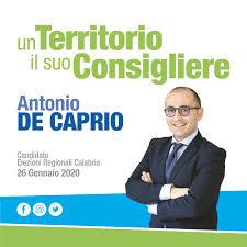 Regionali 2020: De Caprio, il sindaco di Orsomarso candidato ...