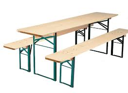 beer garden table. The Classic German Beer Garden Table Shown In Natural Wood Finish.