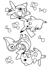 Pokemon Coloring Pages Oshawott At Getdrawingscom Free For