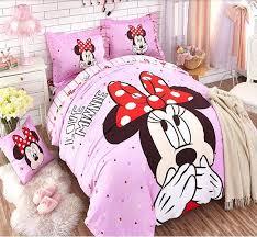 disney queen size bedding big head mouse duvet cover sheet sets disney queen size bedding pink cartoon cat set