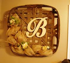 Decorative Basket Wall Art Tobacco Basket Completedmy Last Free Wall Space Has