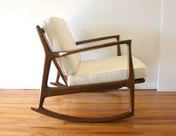 tweed picked vintage pertaining to mid century modern rocking chair creative mid century modern rocking chair