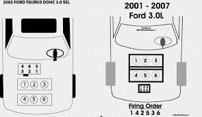 2007 ford taurus plug wire diagram wiring diagrams