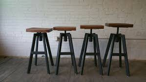hand crafted industrial inspiredr stool by donald mee designs stools chairs kitchen hire sydney tables bar