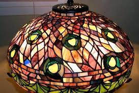 singular chandelier parts tiffany