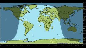 Sun Movement Chart Day And Night World Earth Map With Sun And Moon Position