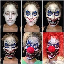 step by step eye makeup pics my collection halloweeen makeup clown makeup