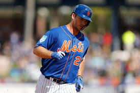 Mets Depth Chart 2019 Pete Alonso Needs More Than Power To Claim His Spot With The