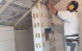 Fliesen Verlegen wand Dusche Badezimmer Tipps & Tricks Gehrung ...
