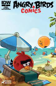 Read online Angry Birds Comics (2014) comic - Issue #3