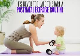 postnatal exercise routine