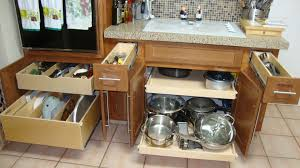 Kitchen Cabinet Sliding Shelf Kitchen Cabinet Pull Out Shelves Uk Monsterlune