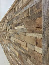 decorative wood panels reclaimed barn wood stacked wall panels diy