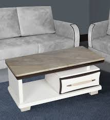 modern marble top center table by