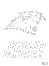 Carolina Panthers Coloring Page
