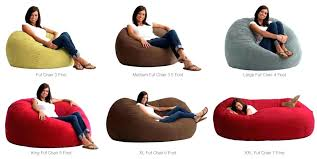 fuf chair king 5 comfort suede bean bag chair multiple
