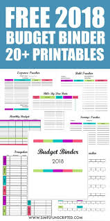 Monthly Finance Planner Free Budget Binder 20 Budgeting Printables To Transform Your