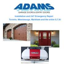 adams door systems garage door services 5030 maingate drive mississauga on phone number yelp