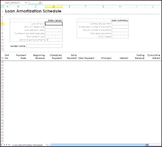 Loan Amortization Schedule Template Excel Home – Feliperodrigues