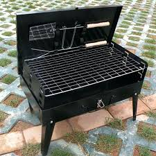 stainless steel party portable camping picnic outdoor charcoal bbq built in charcoal grill built in charcoal outdoor charcoal grills