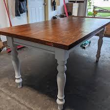 set of 4 variation table legs