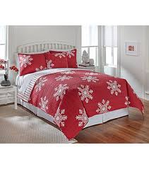 LivingQuarters New Haven Red Snowflake Quilt Collection   Younkers ... & LivingQuarters New Haven Red Snowflake Quilt Collection   Younkers Adamdwight.com