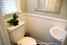 tiny powder room before and after