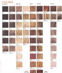 Brown Pelo Color Chart Highlights Light Brown Pelo Color