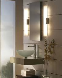 bathroom vanity mirror lights. Gorgeous Long Vanity Mirror Wall Lights Bathroom With  2 Light Fixture Cool S