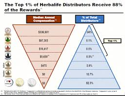 Mlm Hierarchy Chart If Herbalife Was A Pyramid Scheme It Would Have Collapsed