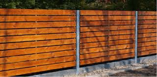 horizontal wood and metal fence. Delighful And Horizontal Wood Fence 30 Pictures  And Metal P