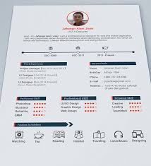 Free Template Resume Inspiration 24 Free Beautiful Resume Templates To Download Resume Design