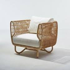 sunroom furniture. the caneline nest club chair is made of sustainable natural rattan and part indoor furniture collection by suitable for a sunroom or