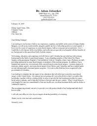 Cover Letter For Internship Medicine Ameliasdesalto Com