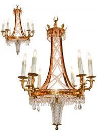 great pair of italian mid century chandeliers