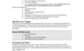 Resume Resume Writing Tools Charismatic Simple Resume Writing