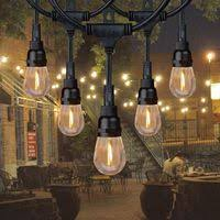 Columbus cafe outdoor lighting String Light Product Image Honeywell 24 Commercialgrade Led Indooroutdoor String Lights What Should We Do Today Columbus Outdoor Lighting Walmartcom