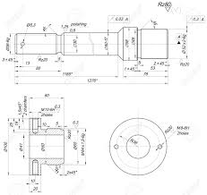 Sketch of bearing with polishing and chamfers engineering drawing thread drawings symbols engineering drawing dimensioning chamfer