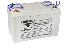 <b>Тяговый гелевый аккумулятор RuTrike</b> 6-EVF-100 (12V100A/H C3 ...