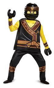 Deluxe Cole Ninja Kostüm für Kinder