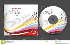 Cd Cover Design Stock Vector Illustration Of Curve Computer 15324446